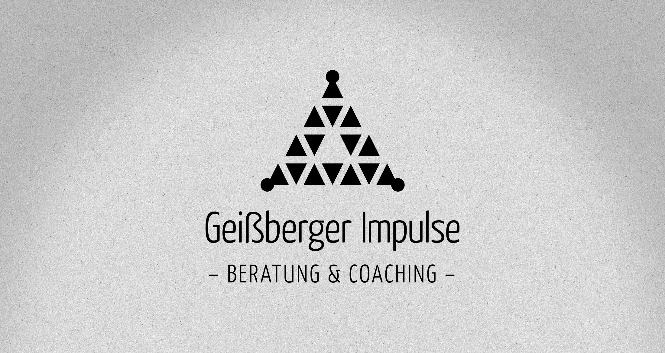 Logo Geißberger Impulse, Dannenfels, 1-farbig