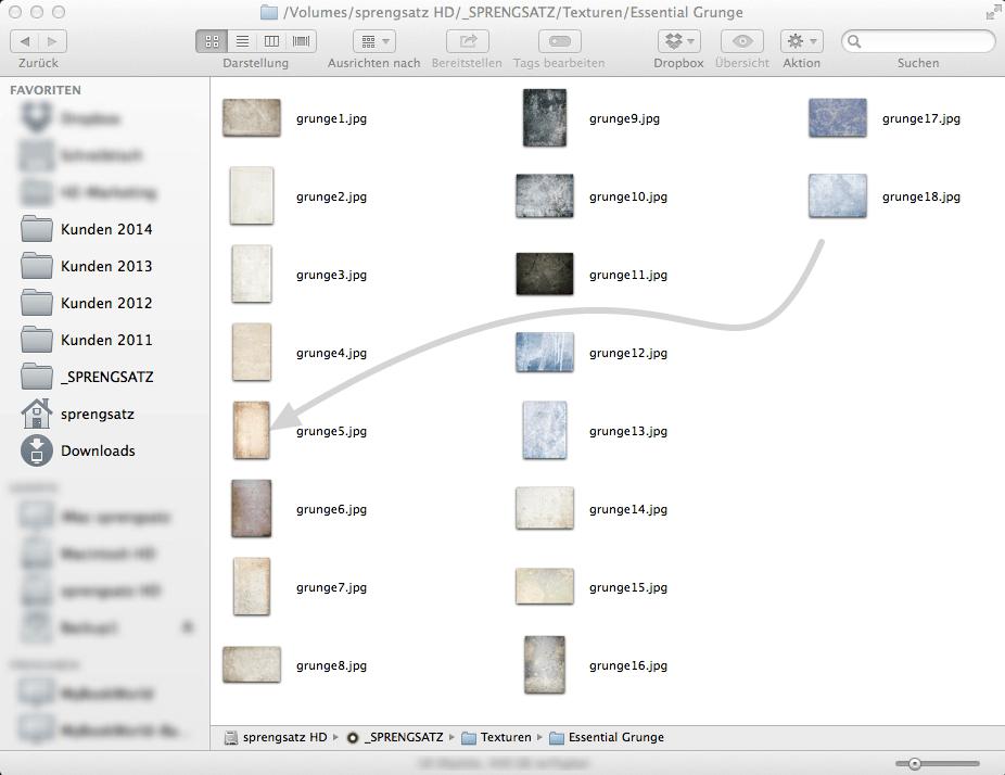 Beispiel Screenshot Finder/Explorer-Fenster (Tool: Screenshot-Awesome)