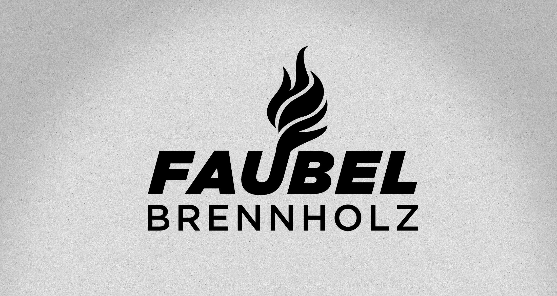 Logo Brennholzhandel, Mörsfeld, 1-farbig schwarz