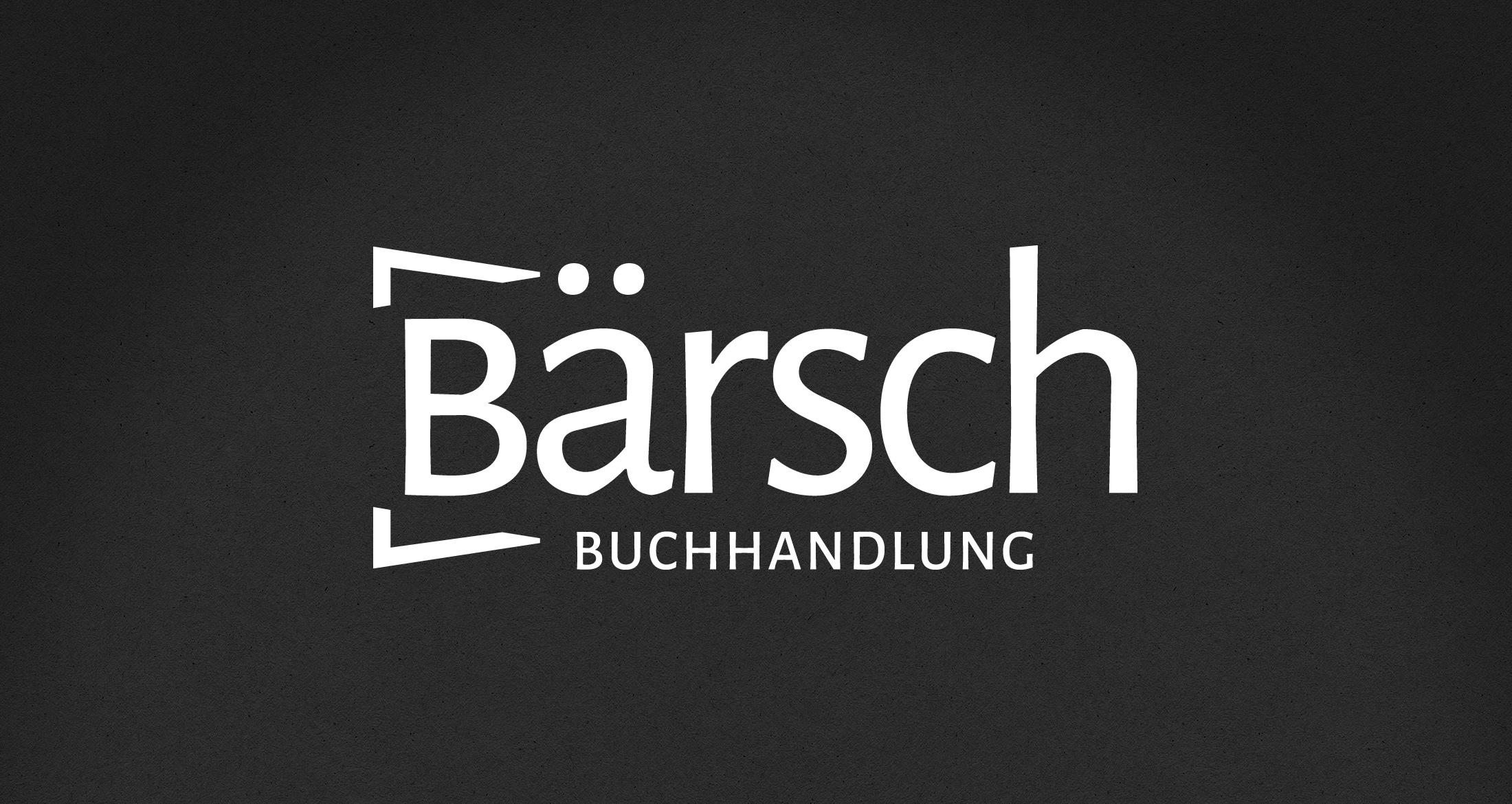 Logo Buchhandlung Frankfurt, 1-farbig weiß (negativ)