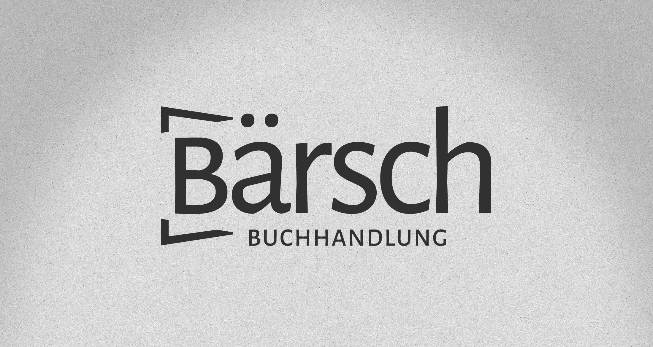 Logo Buchhandlung Frankfurt, 1-farbig schwarz