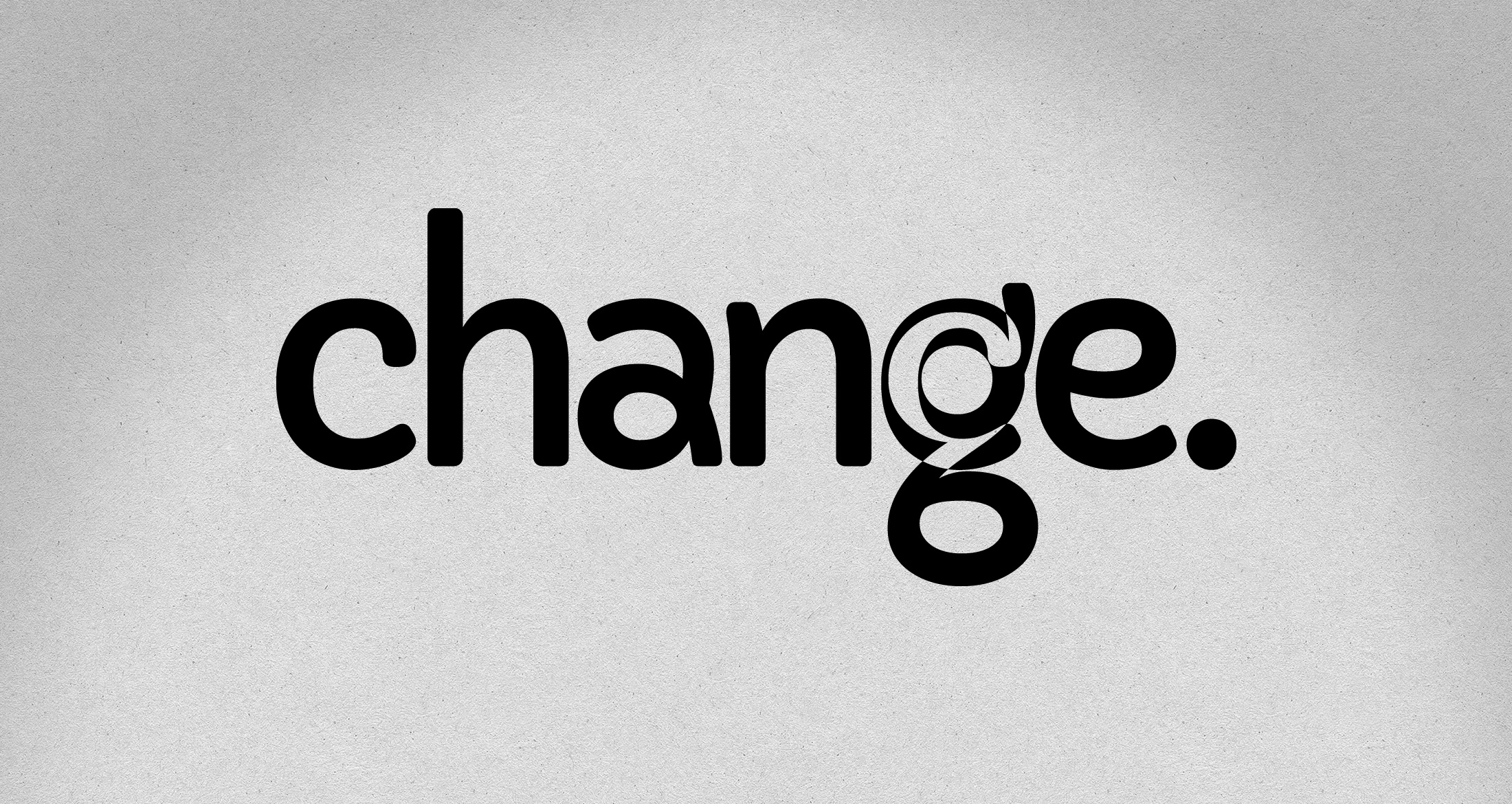 Logo change, Kirchheimbolanden, 1-farbig schwarz