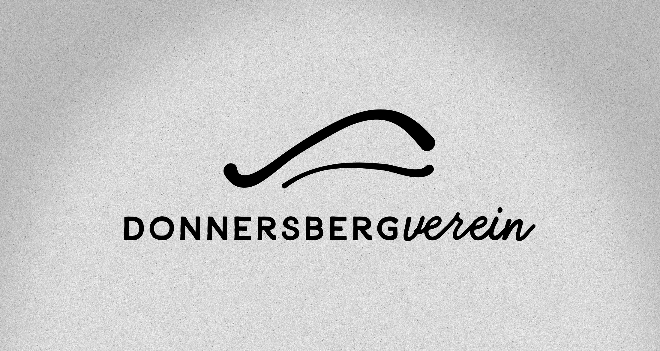 Logo Donnersbergverein, Dannenfels, 1-farbig