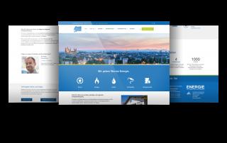 Firmenhomepage Energieversorger, Worms-Pfeddersheim