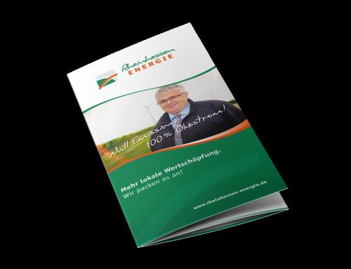 Info-Prospekt Energieversorger, Sprendlingen-Gensingen