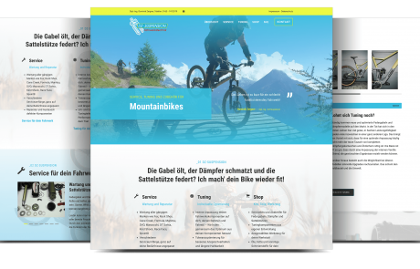 Website Mountainbike Service Otterbach | Webdesigner Kaiserslautern