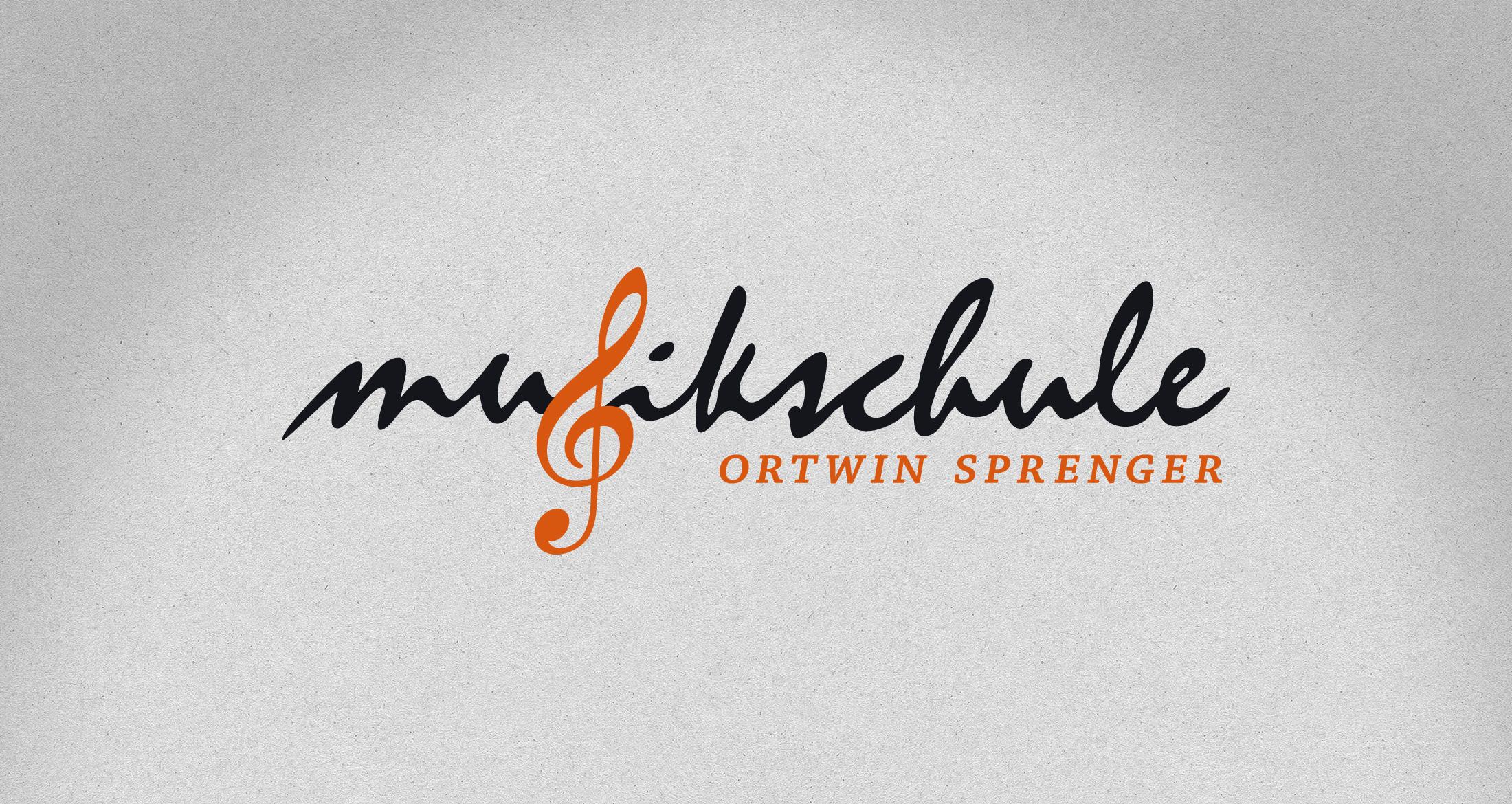Logo Musikschule Ortwin Sprenger, Albisheim