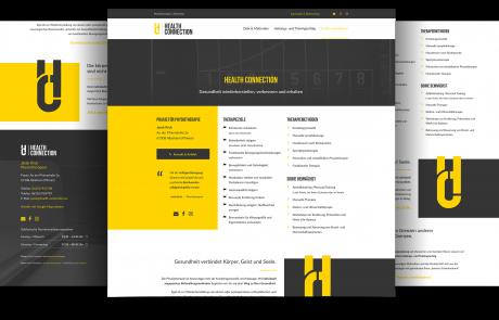 Webdesign Praxis Physiotherapie, Albisheim