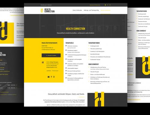 Webvisitenkarte Praxis für Physiotherapie, Albisheim