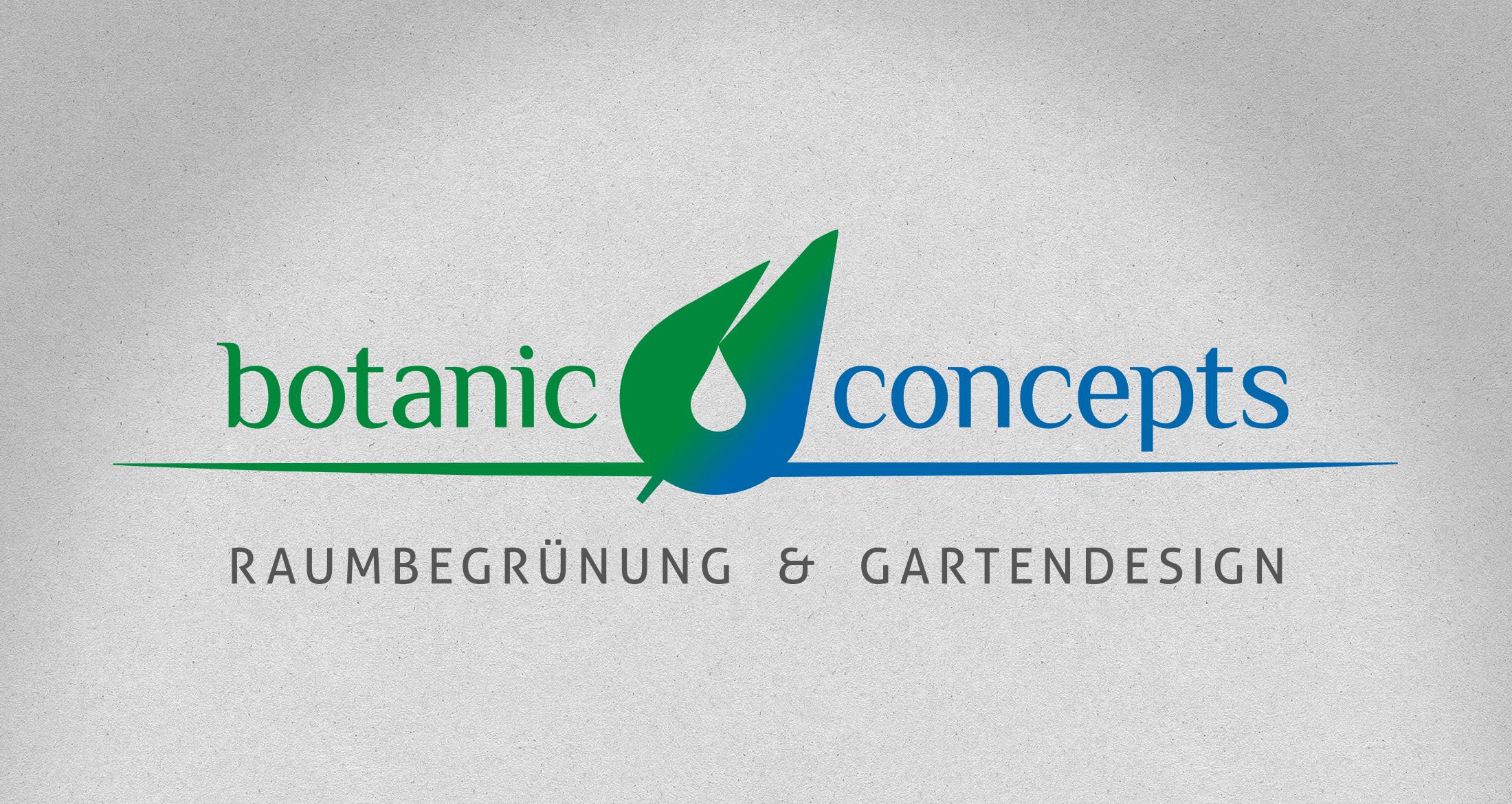 Logo botanic concepts, Dannenfels