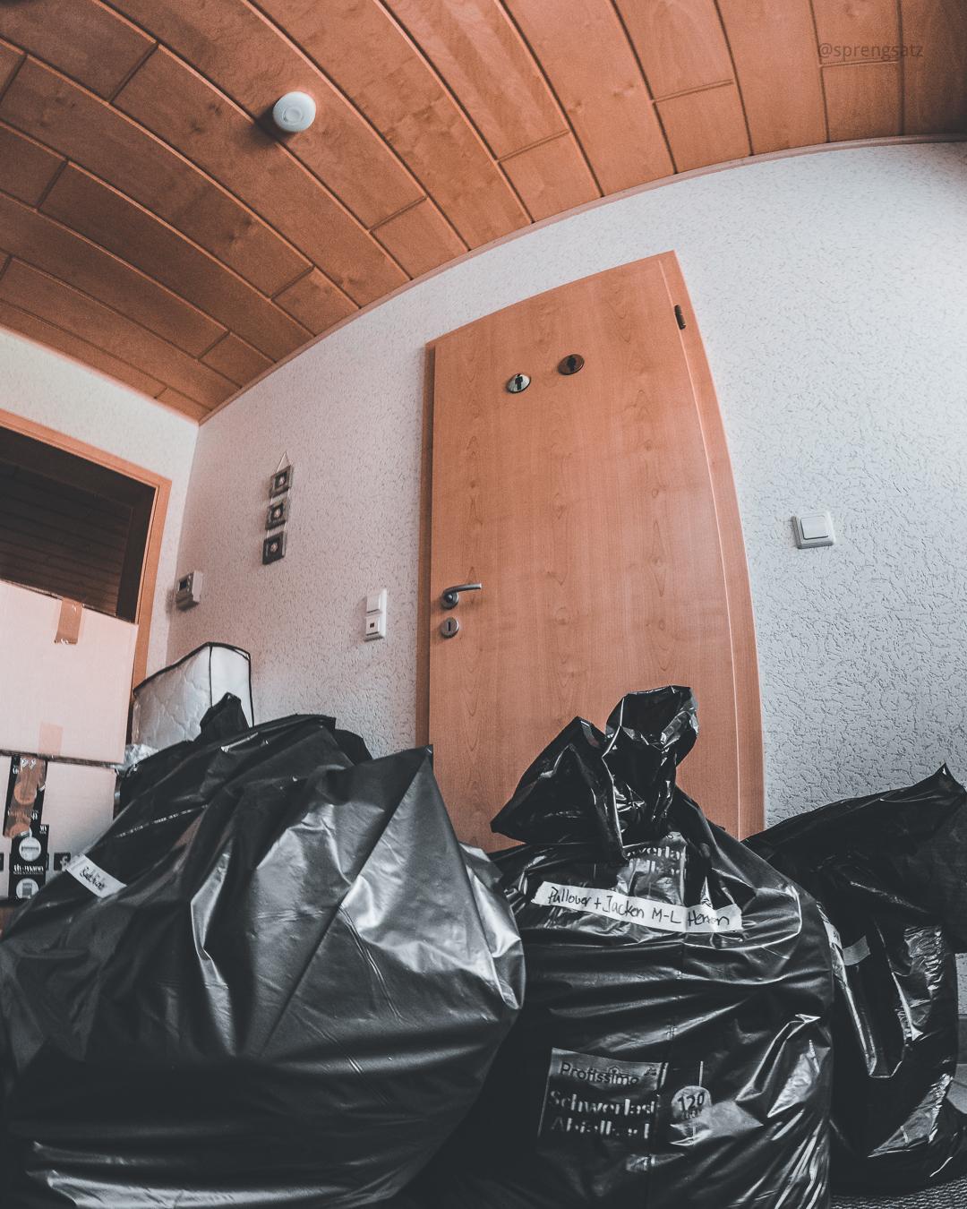 Sammlung von Sachspenden für die Betroffenen der Hochwasserkatastrophe im Juli 2021 in Rheinland-Pfalz und Nordrhein-Westfalen