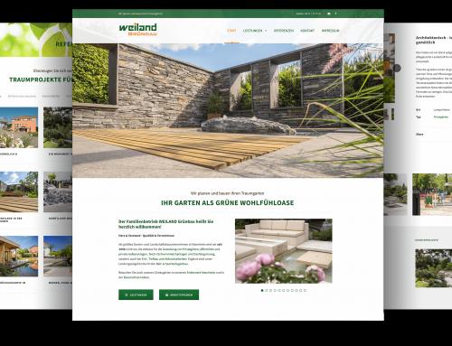 Webdesigner Firmenwebseite Garten-/Landschaftsbau, Mannheim