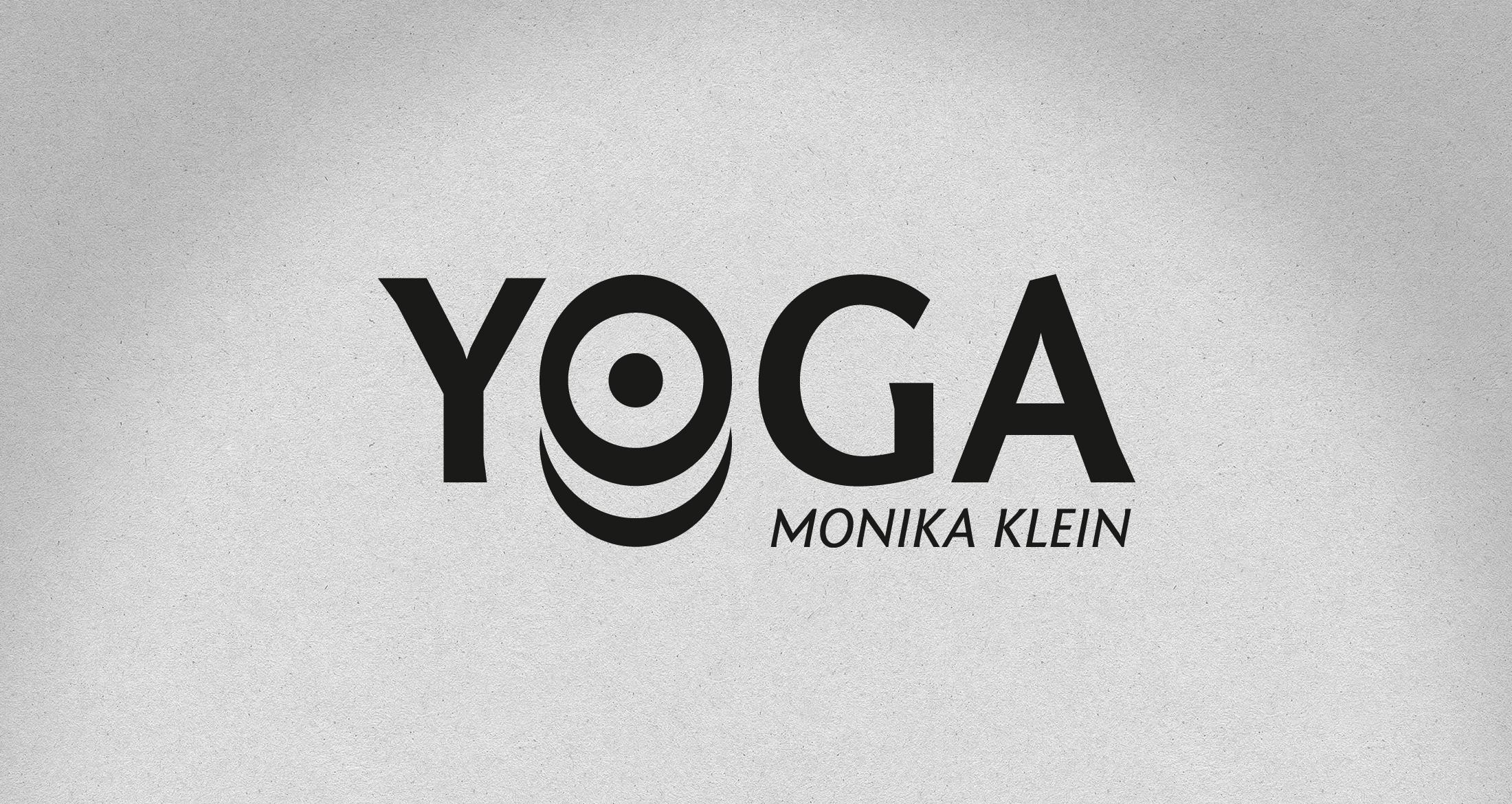 Logo Yoga-Schule Klein, Kirchheimbolanden, 1-farbig schwarz